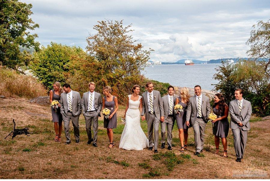 candid wedding party photos vancouver