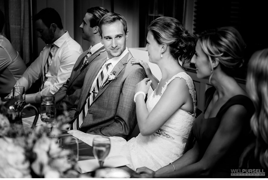 candid wedding photo in vancouver rowing club