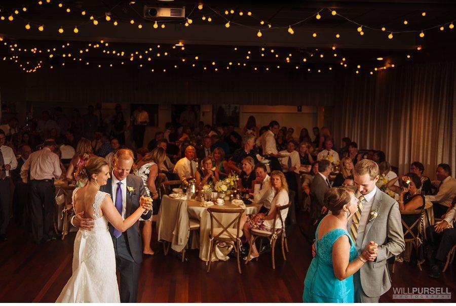 vancouver rowing club wedding reception