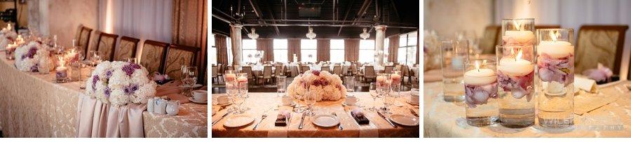 la perla ballroom decor by wedding design studio
