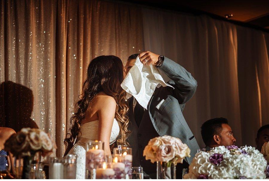 wedding reception at la perla ballroom