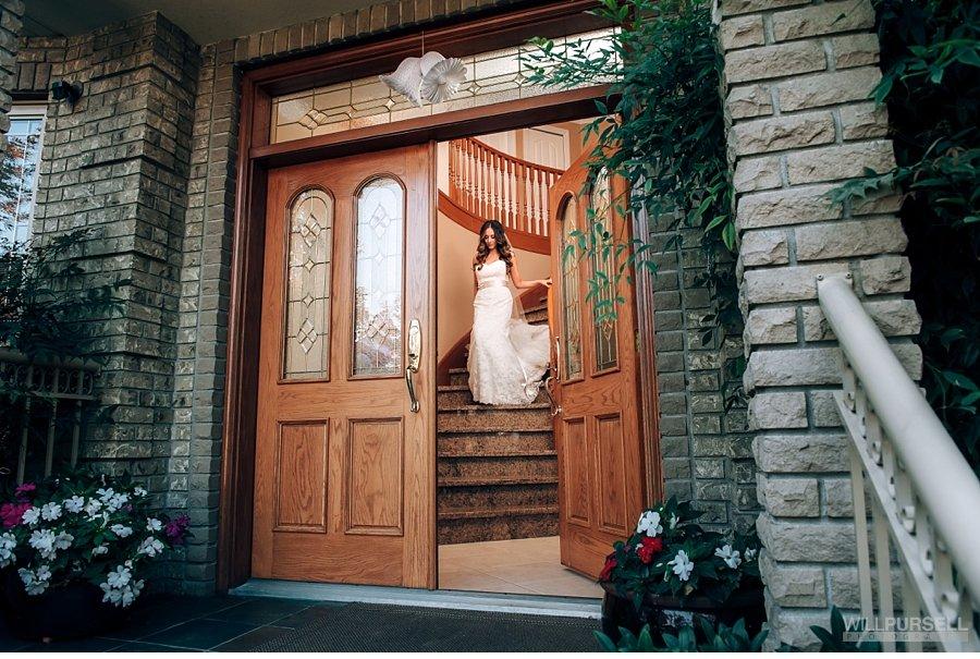 vancouver bridal photo