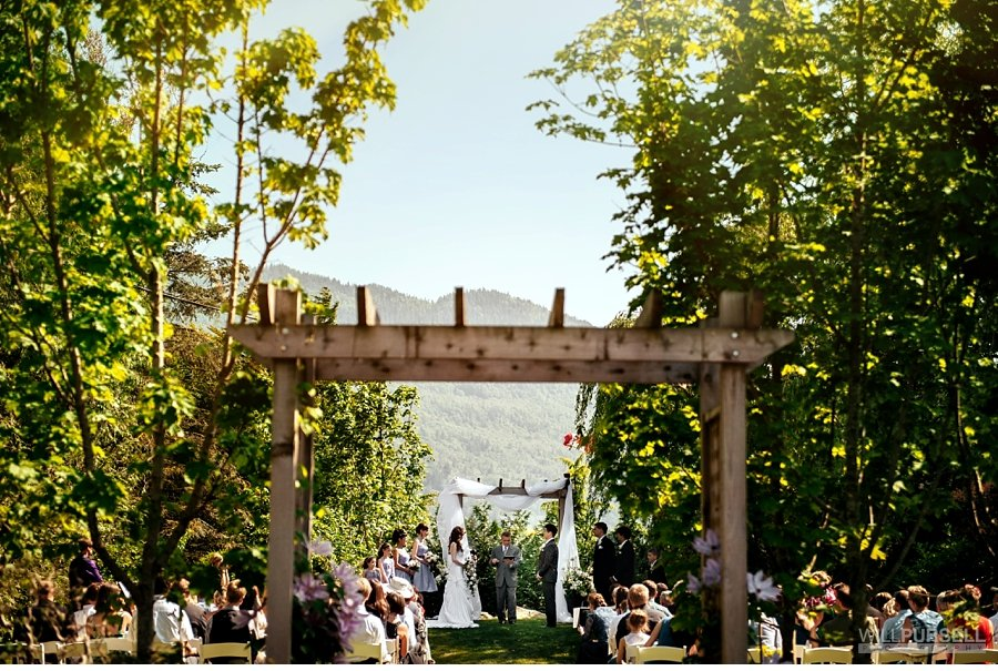 secret garden wedding ceremomy abbotsford
