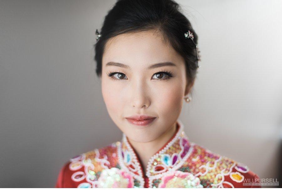 Chinese wedding beauty photo