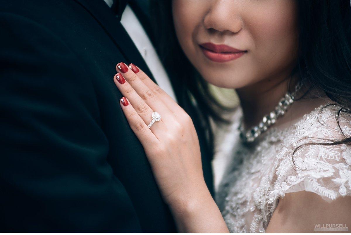 bridal manicure vancouver