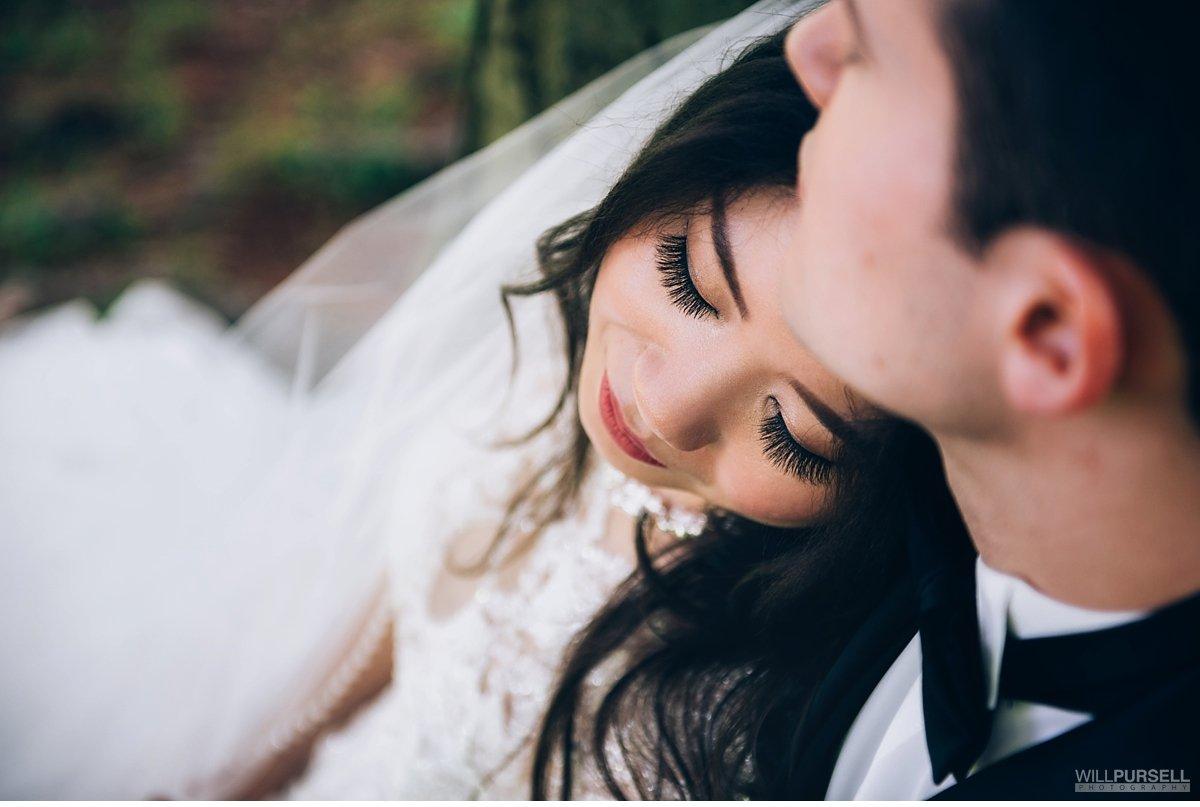 bridal makeup portrait