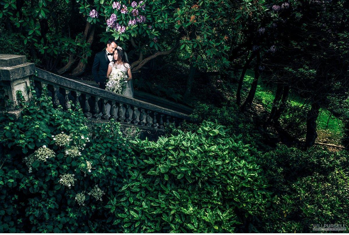 Hycroft wedding portraits