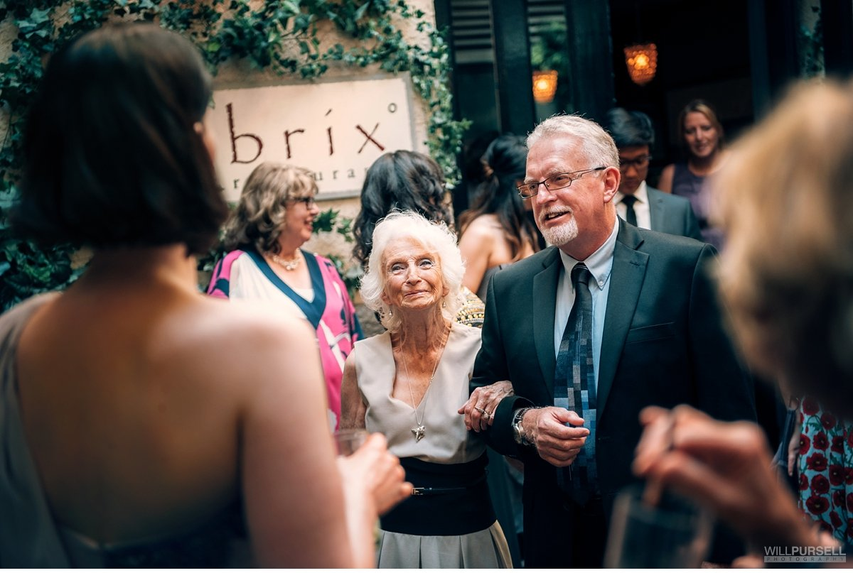 brix wedding courtyard