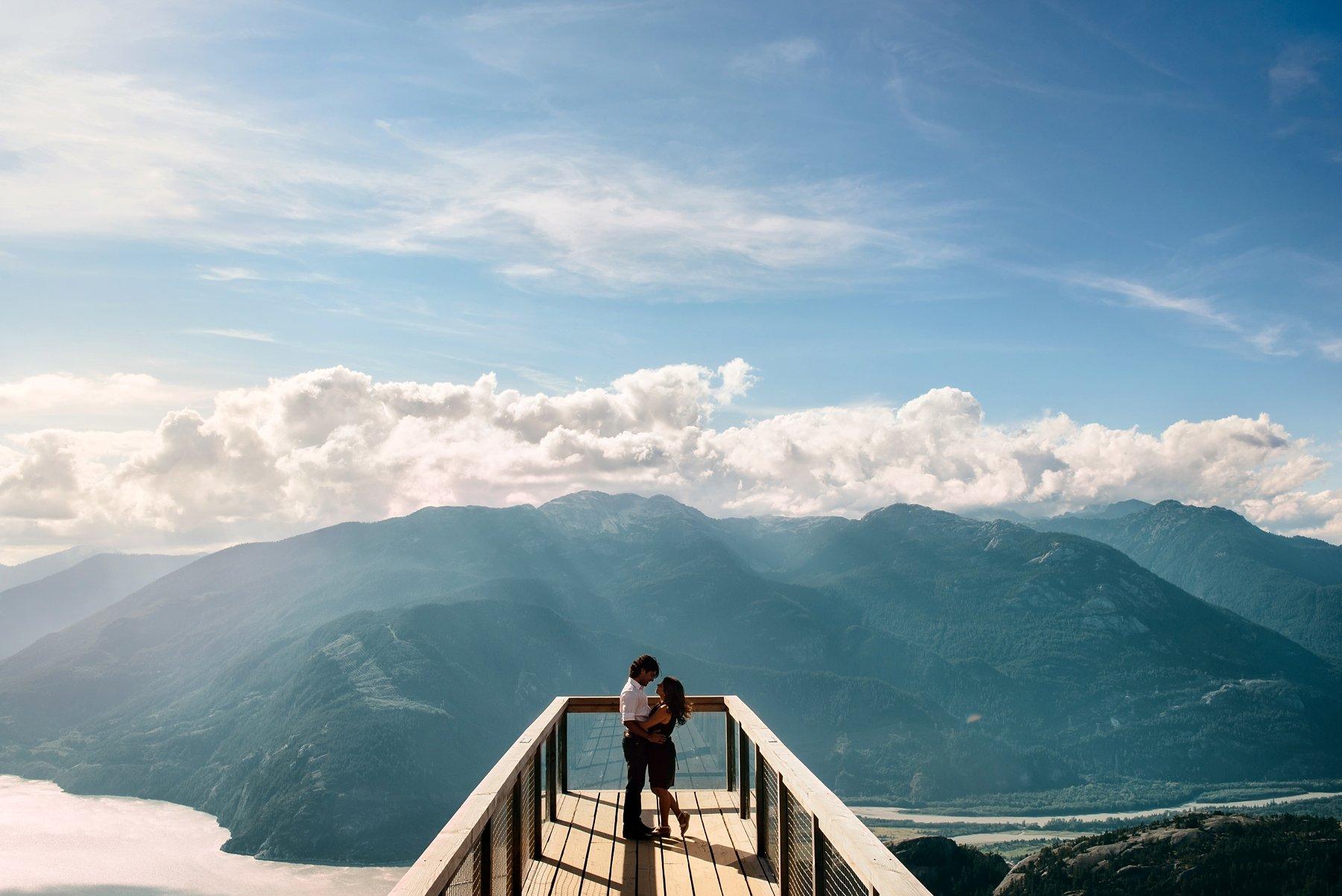 Sea To Sky Gondola Engagement