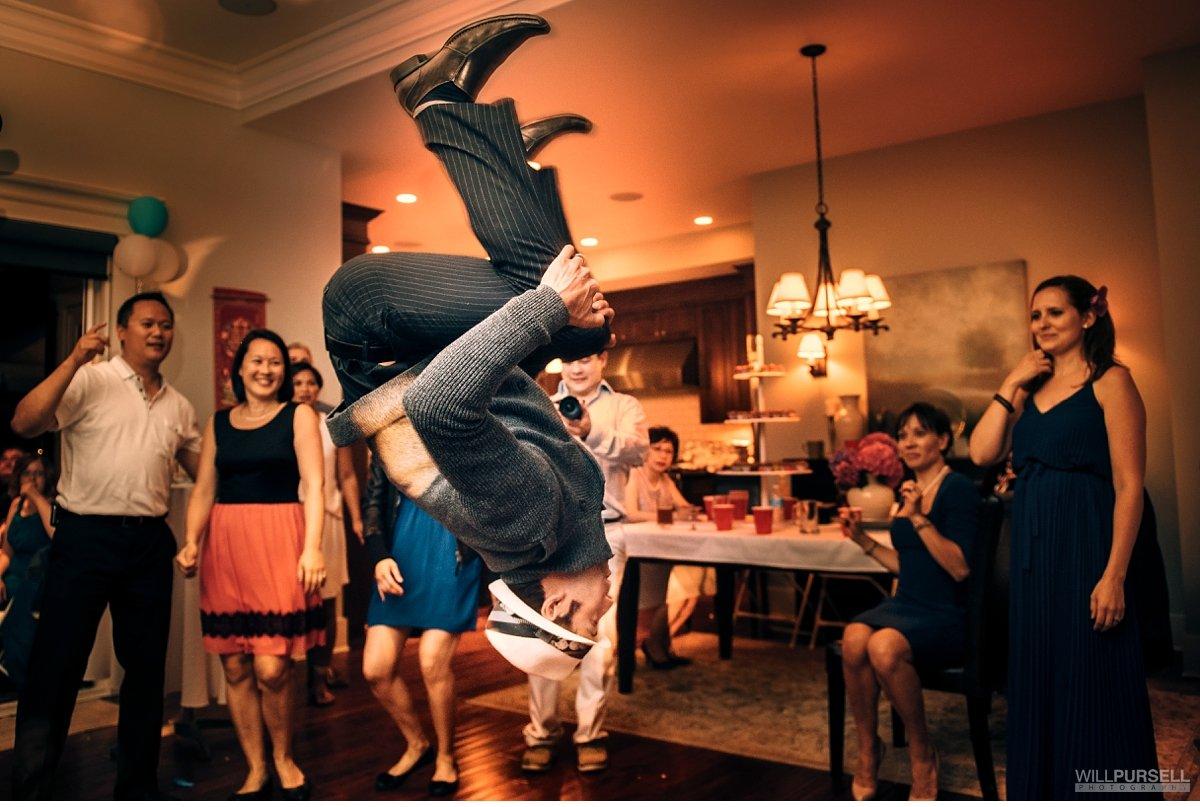 wedding party photo