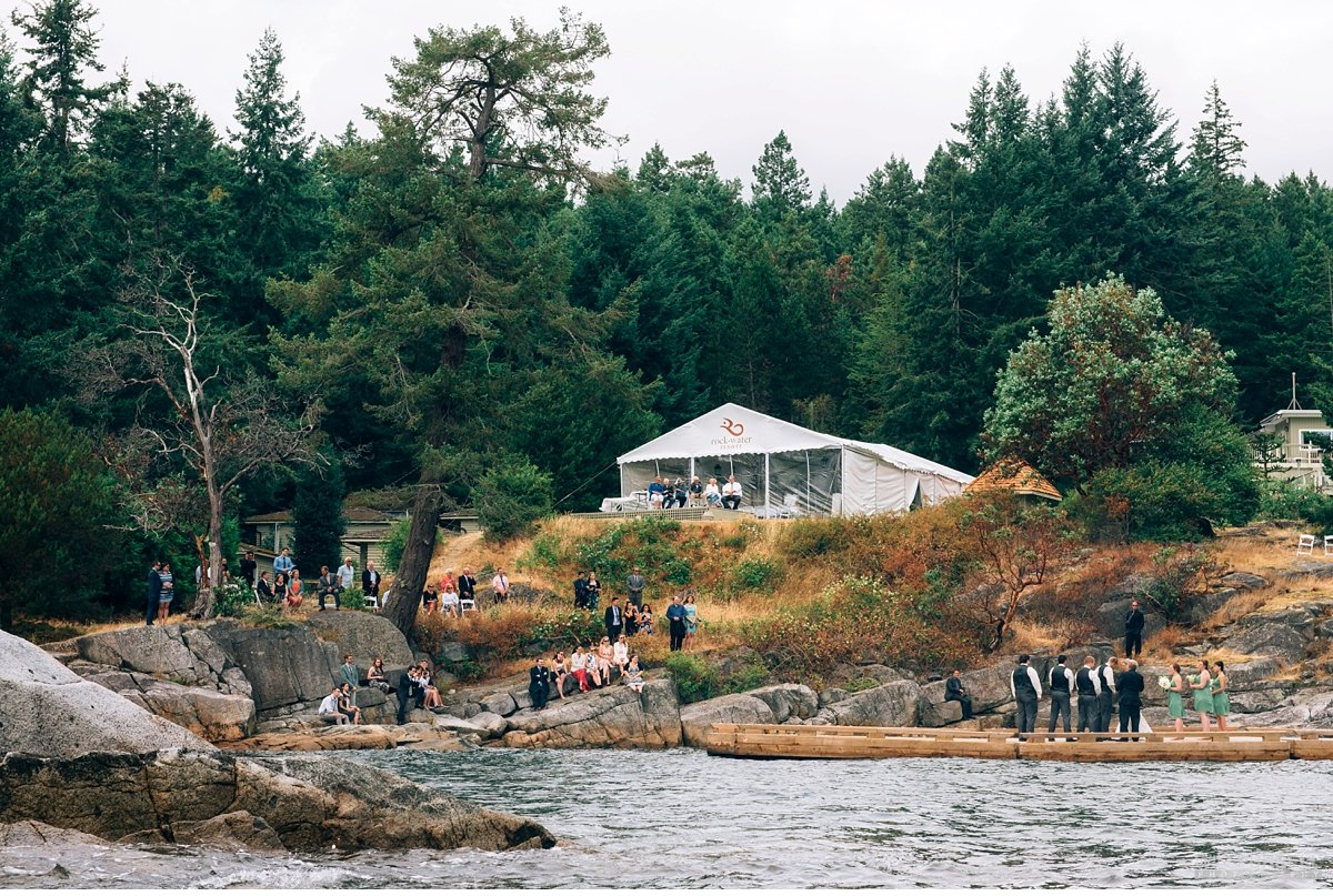 rockwater secret cove outdoor wedding
