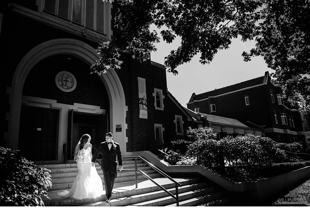 Vancouver church wedding