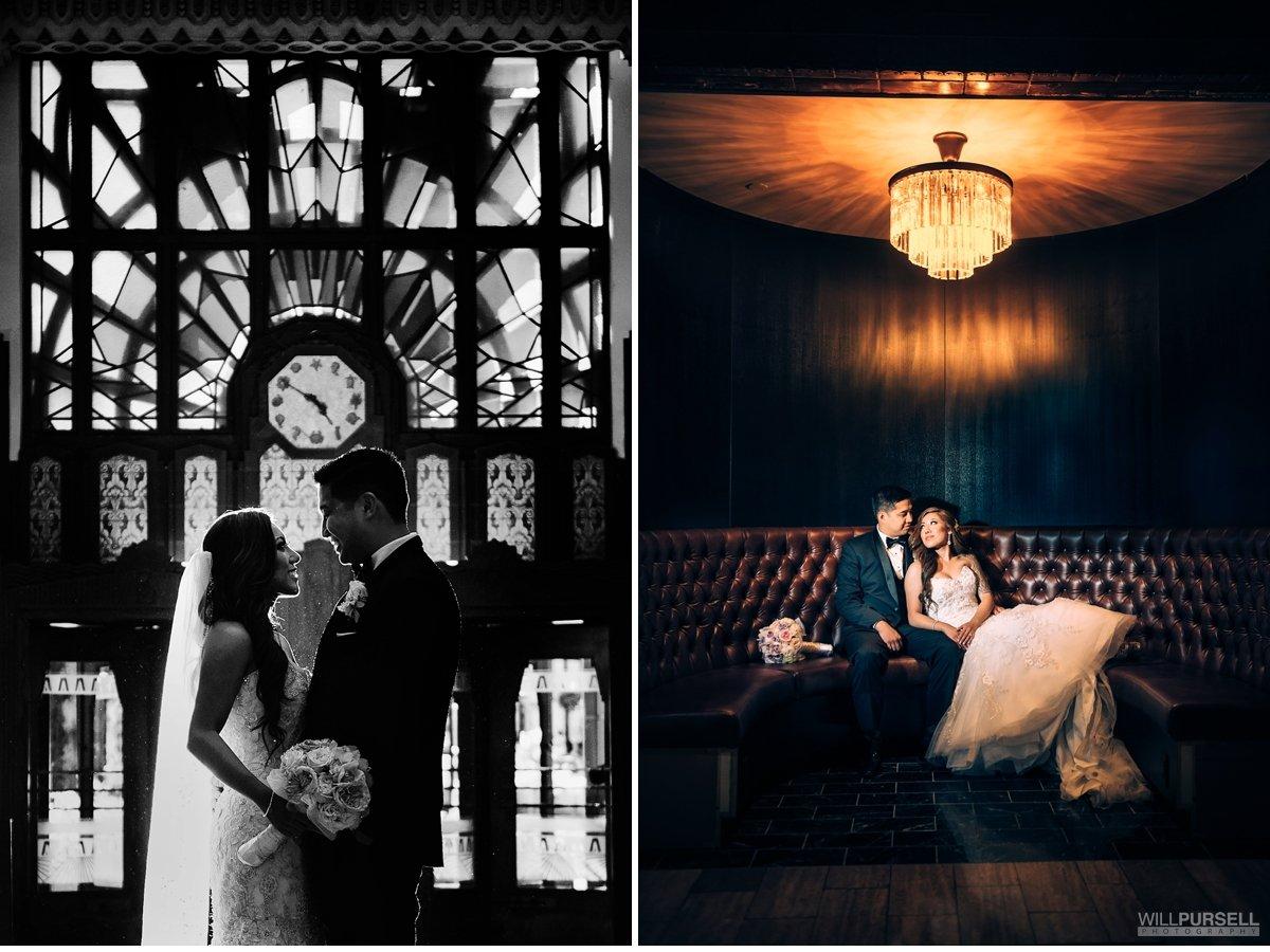 wedding photos Marine Building