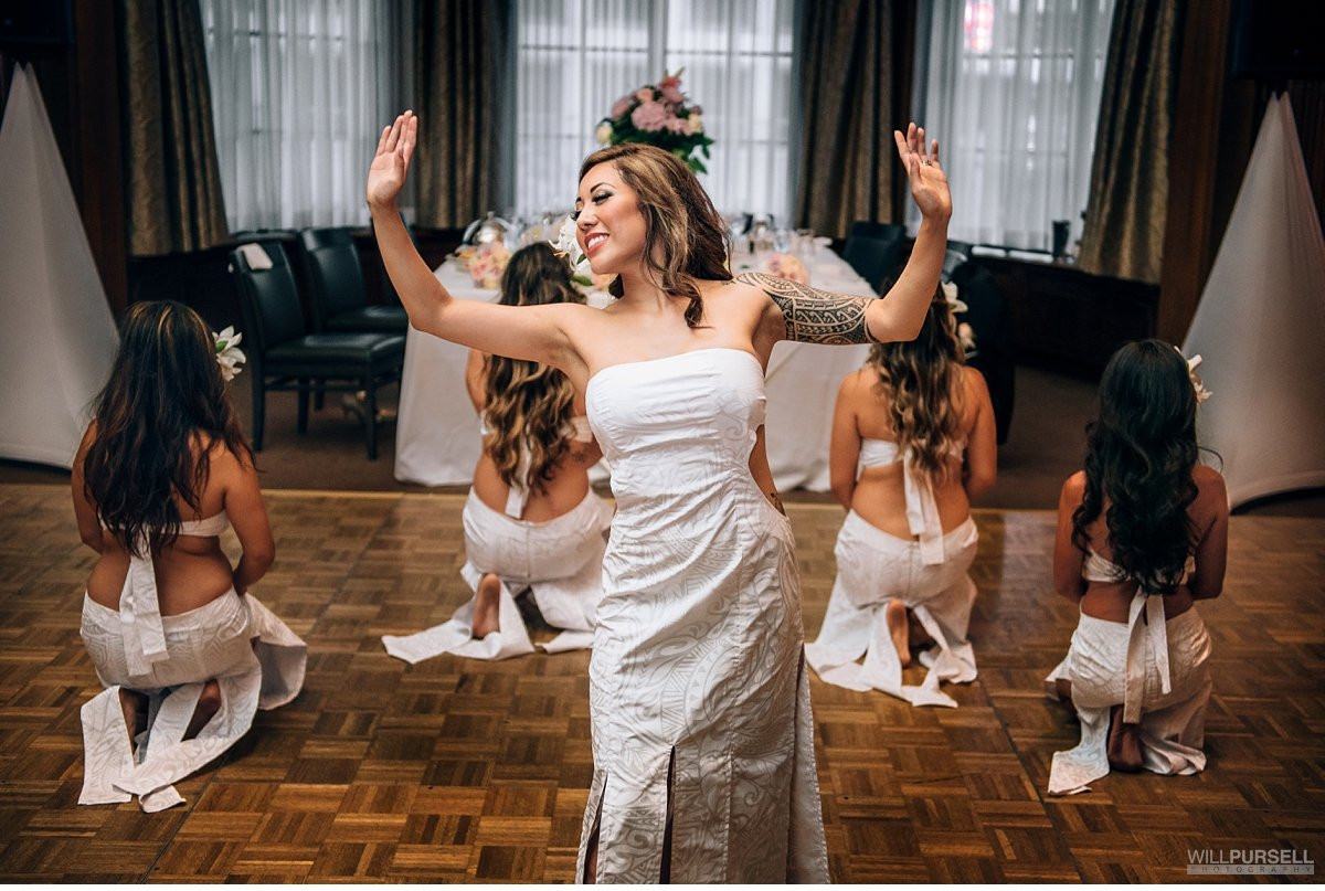 Vancouver Club wedding dance
