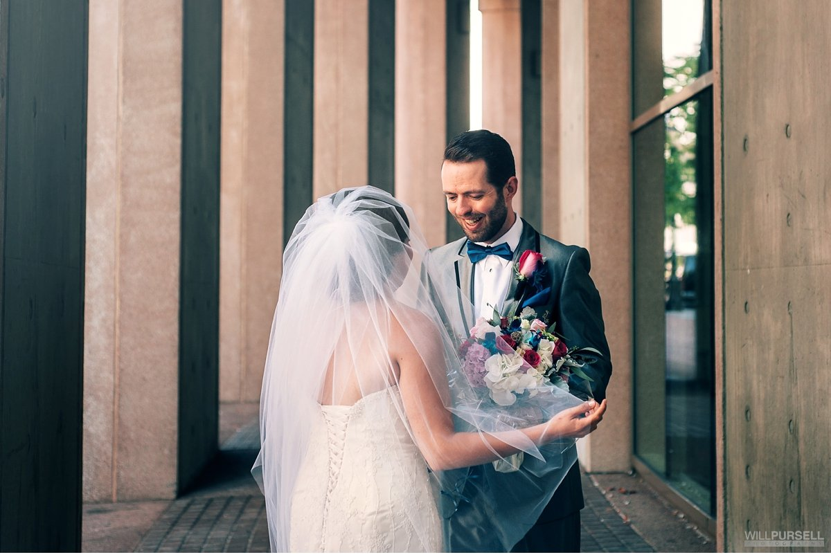 Vancouver Public Library wedding