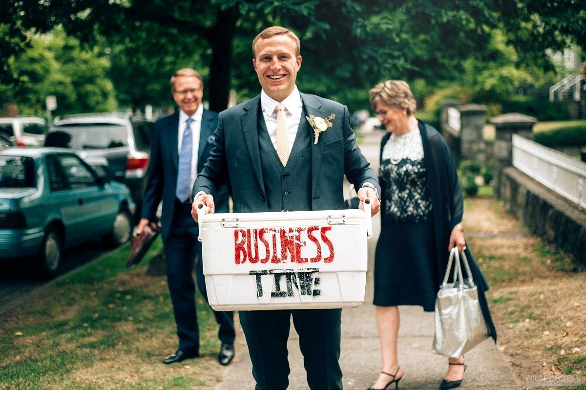 vancouver groom portrait