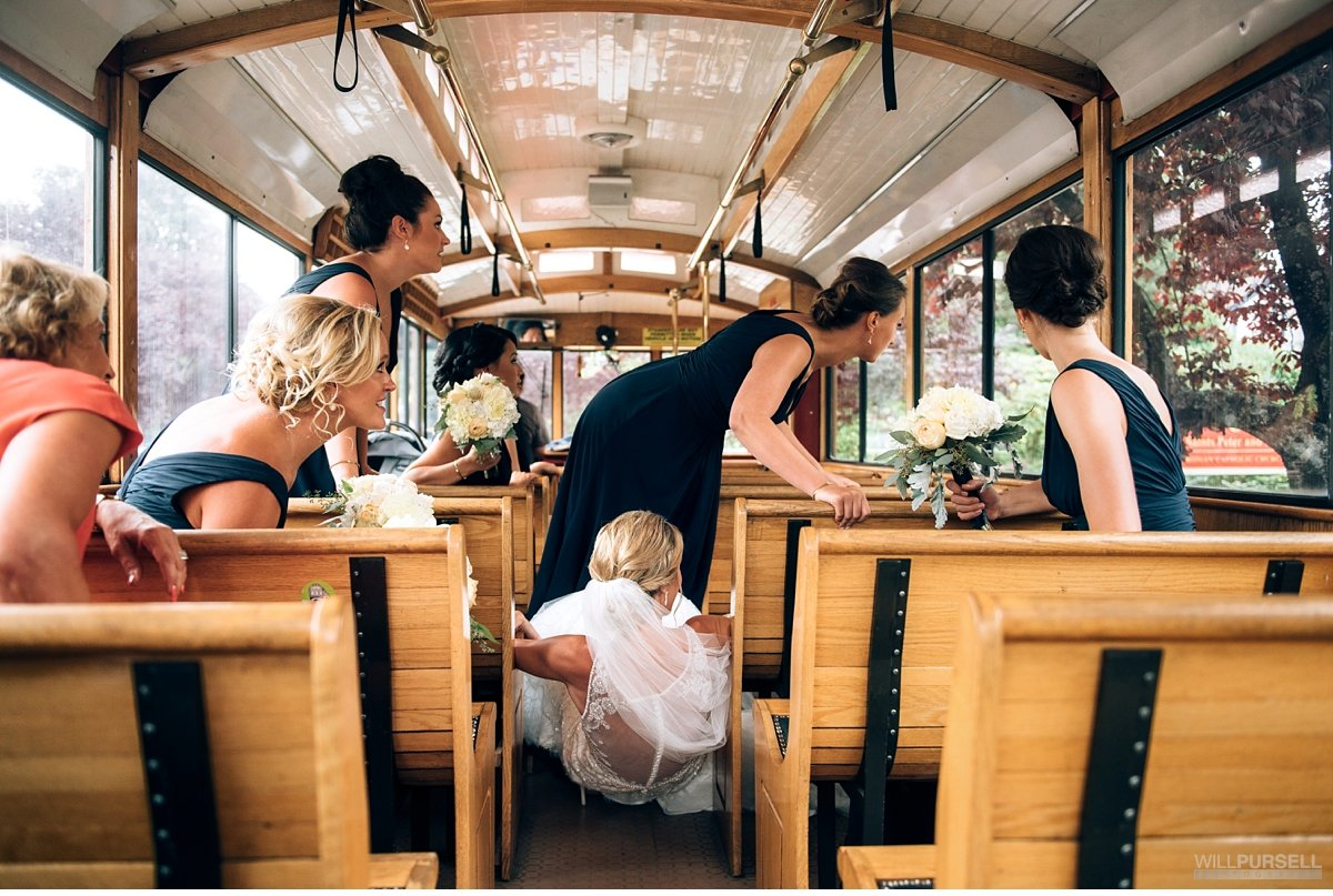 Vancouver Trolley Company wedding