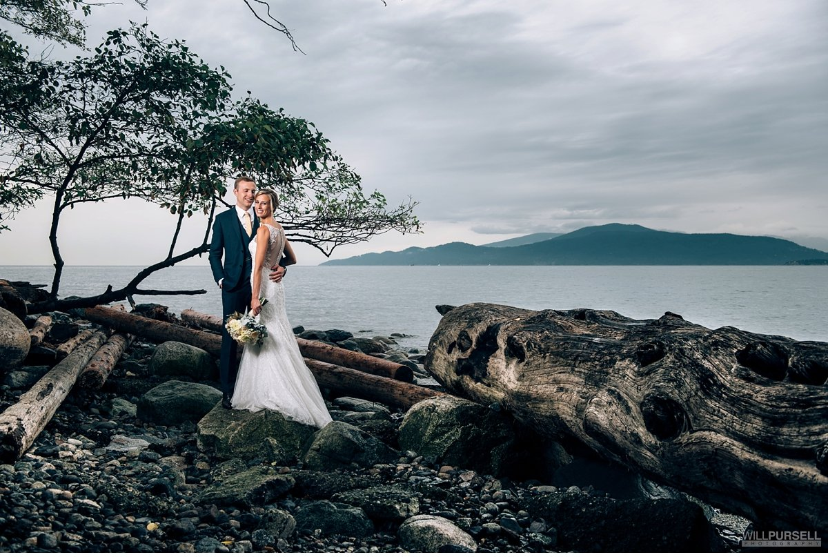 Spanish Banks wedding