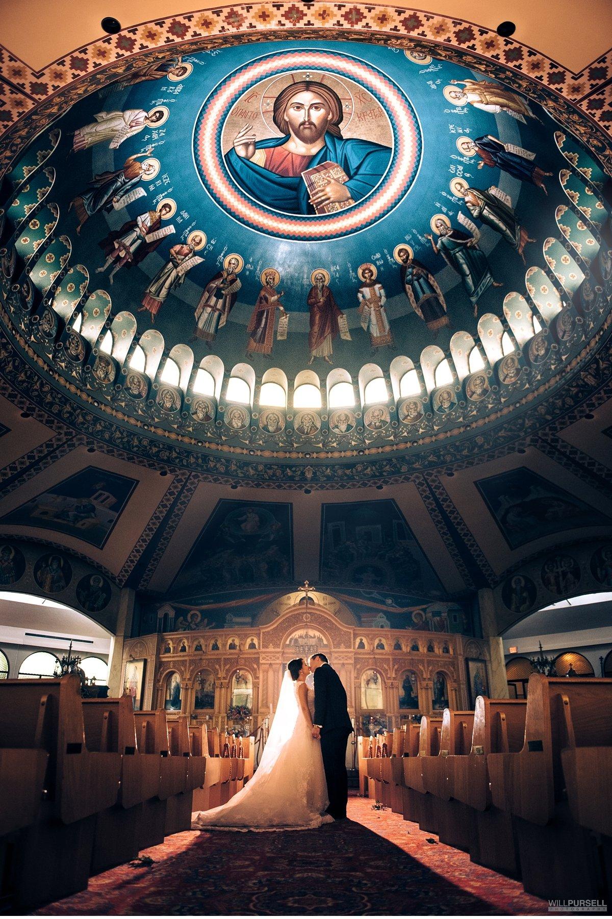 St. Georges Orthodox Church wedding