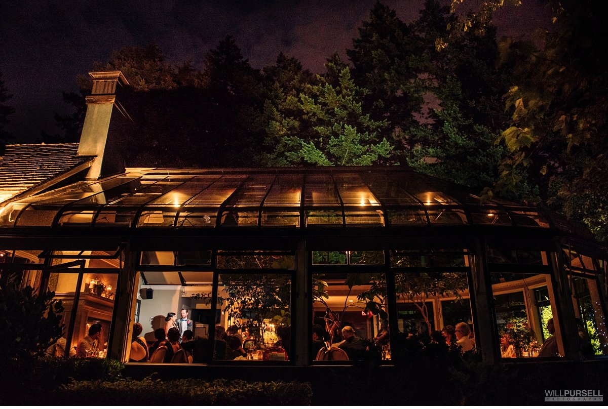 Teahouse restaurant wedding venue