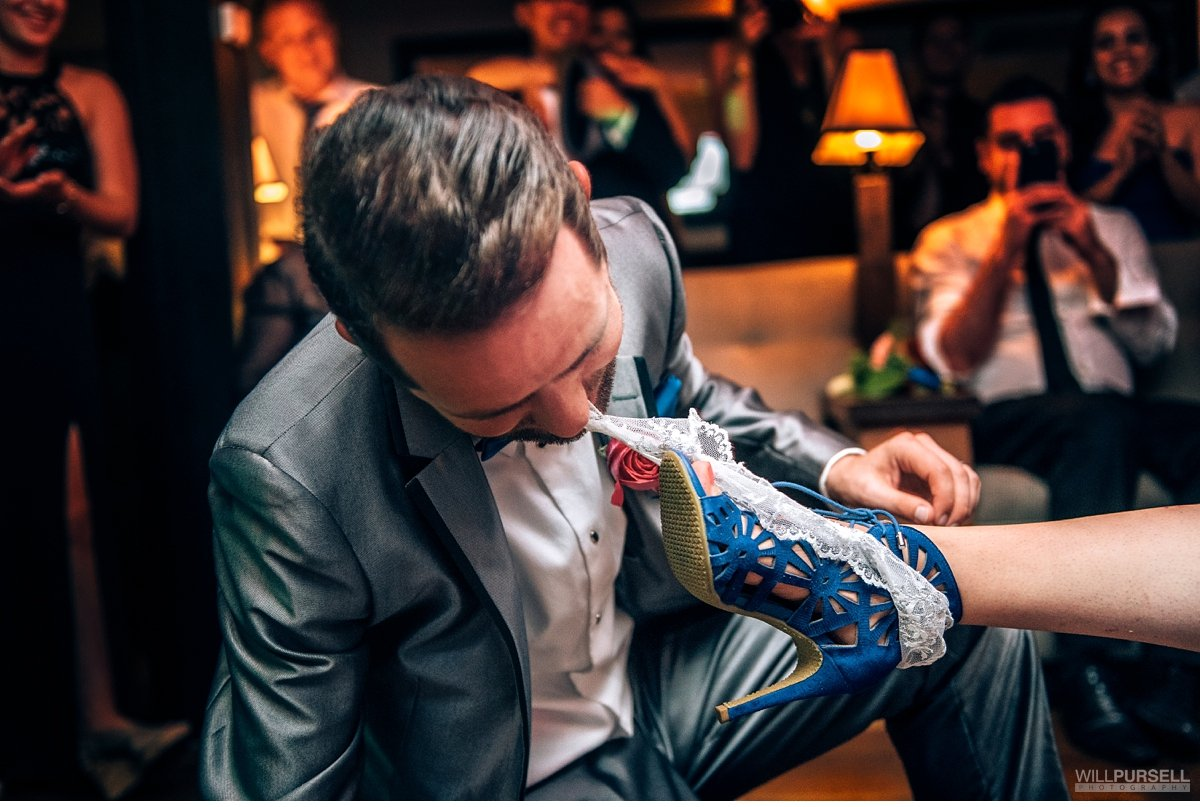 garter toss vancouver wedding