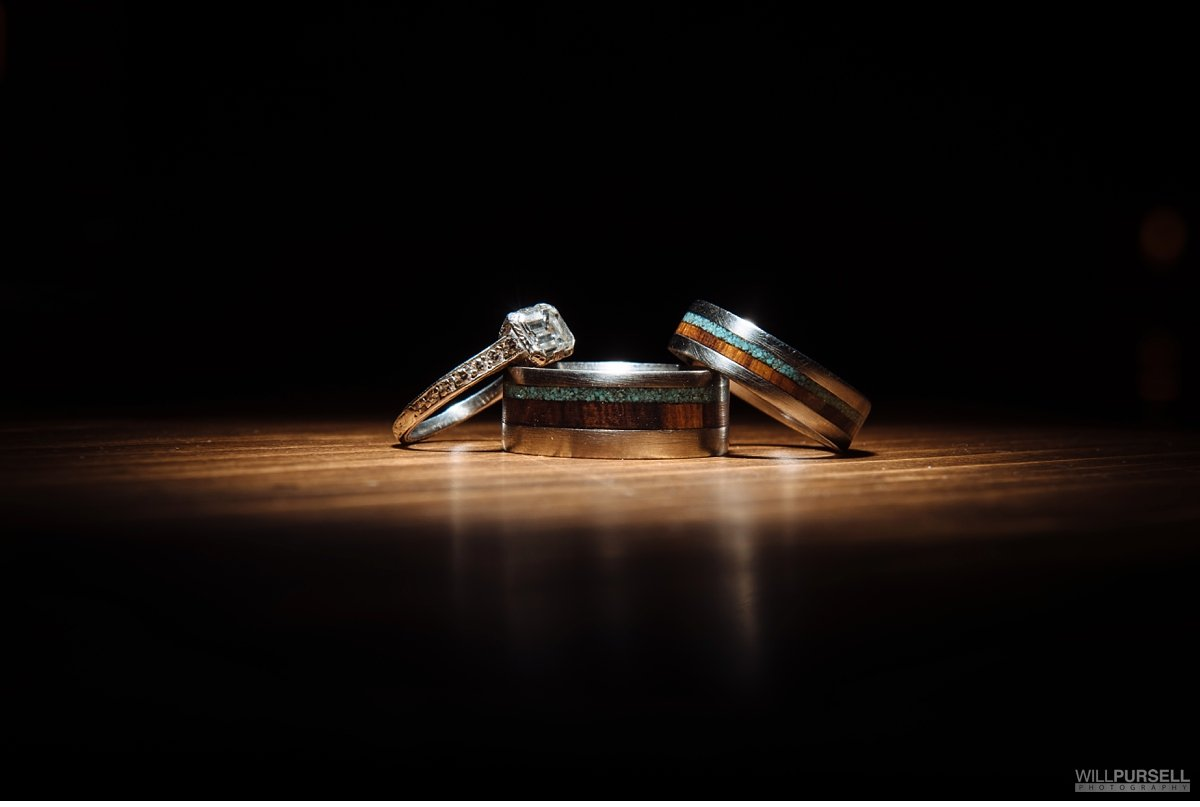 vancouver wood wedding rings