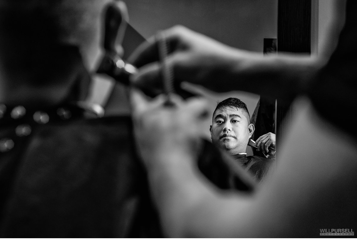 groom barber