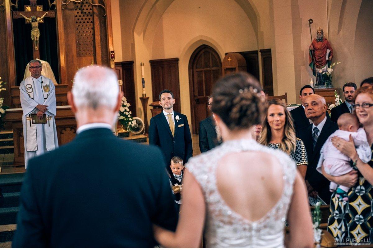 wedding St Augustines church