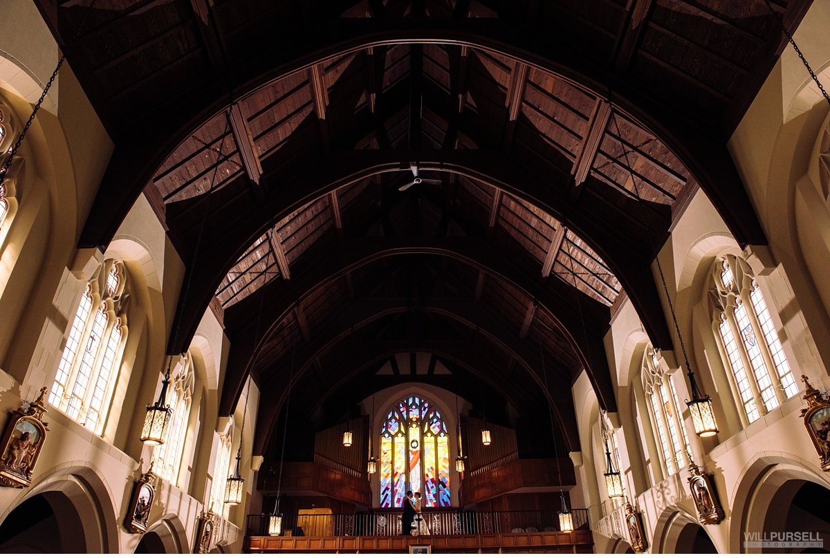 St Augustines church wedding vancouver