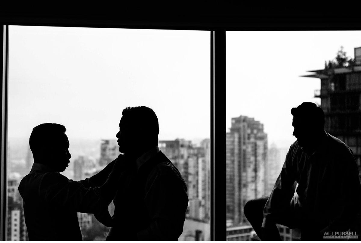 Sheraton Vancouver Wall Centre wedding