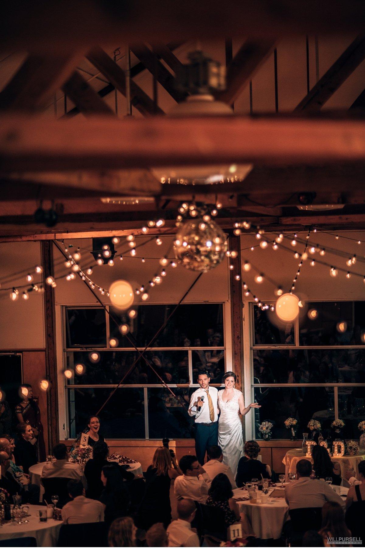 False creek wedding