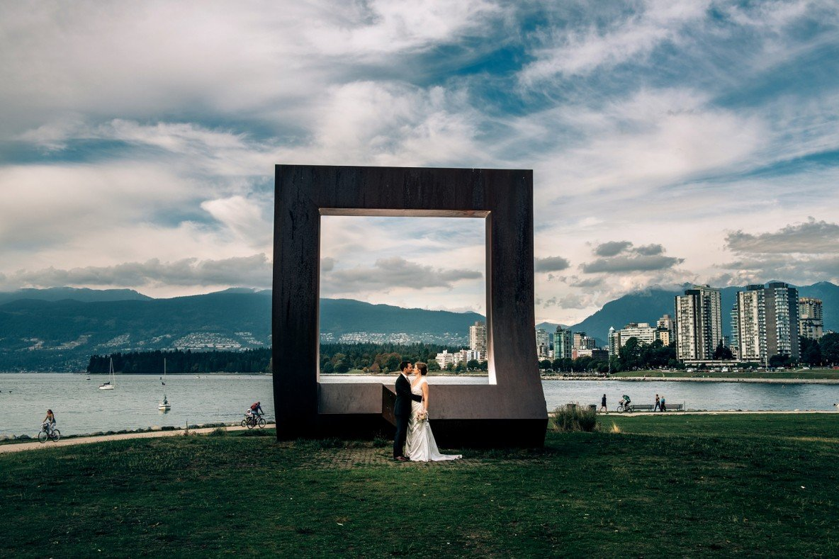 Granville Island Community Centre wedding