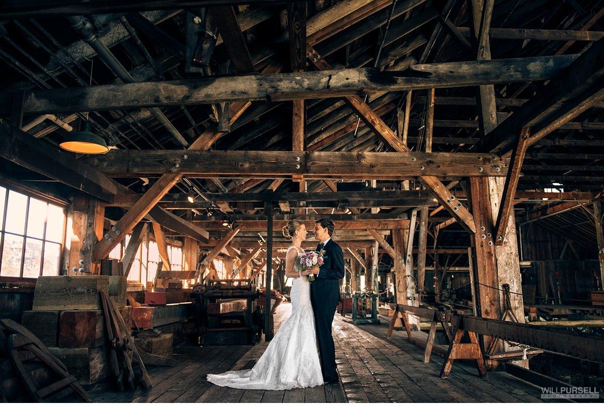 Britannia Shipyard And Ubc Boathouse Wedding