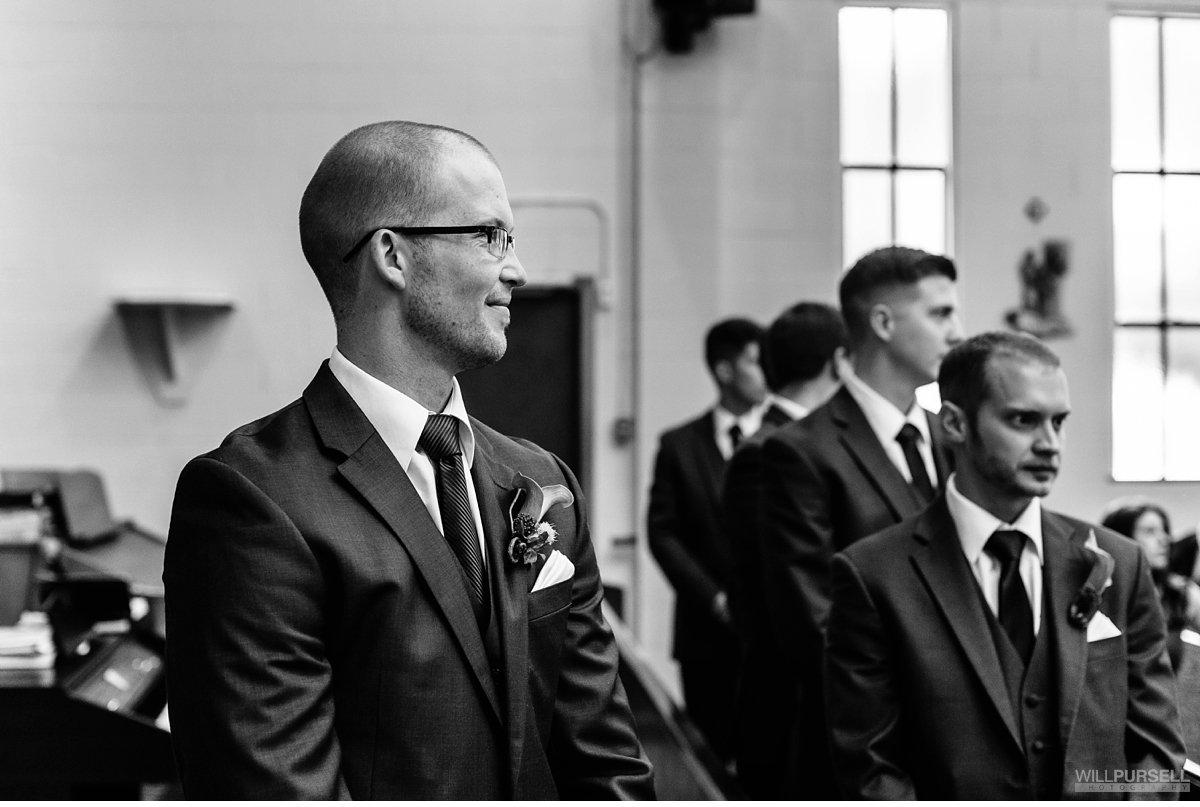 St Joseph Catholic- Church wedding