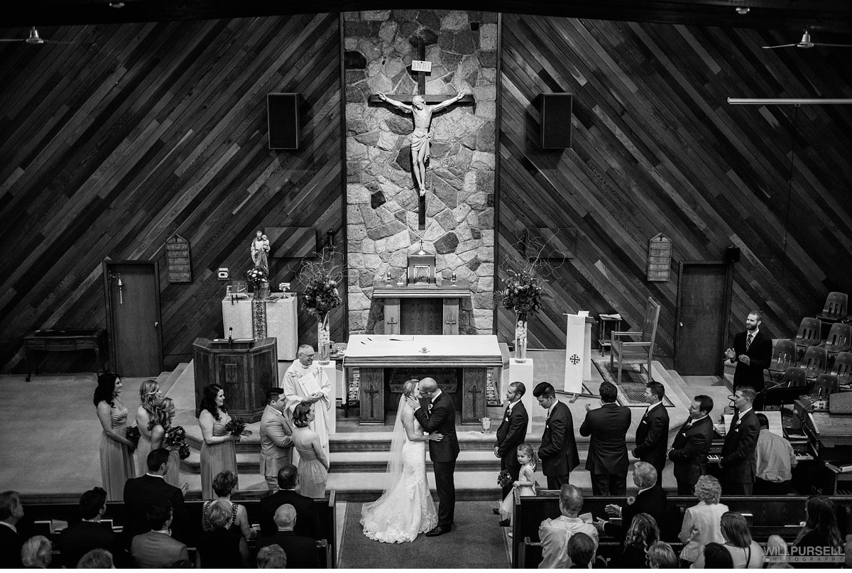 St Joseph Catholic Church wedding