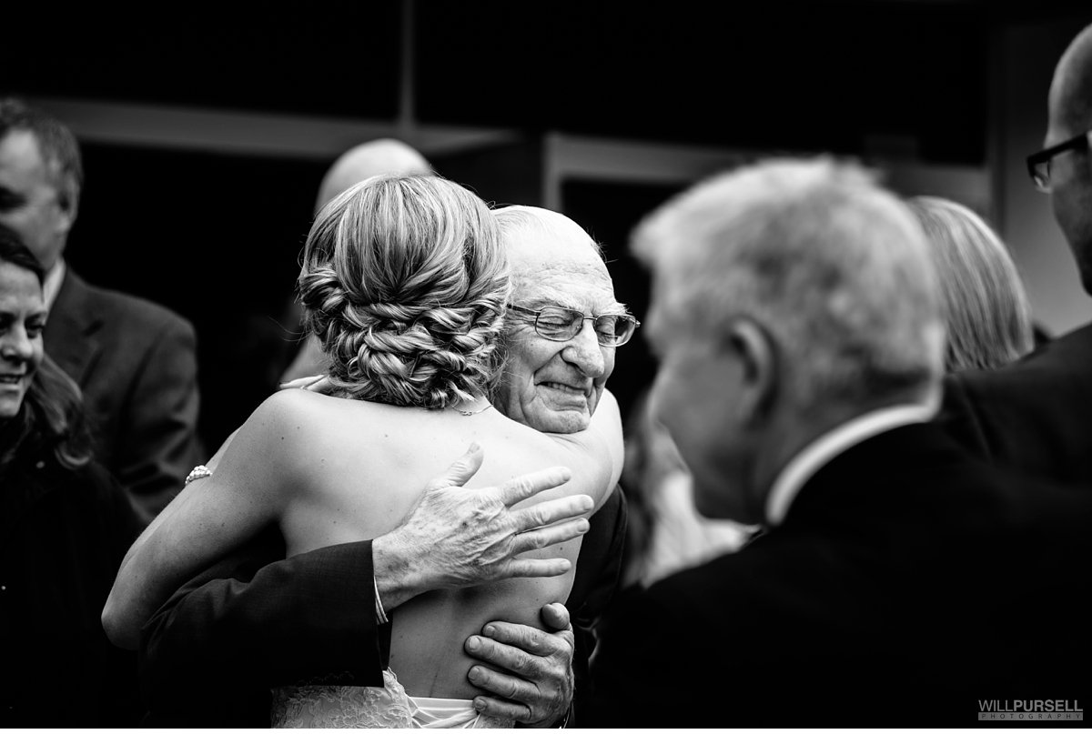 grandpa wedding photo