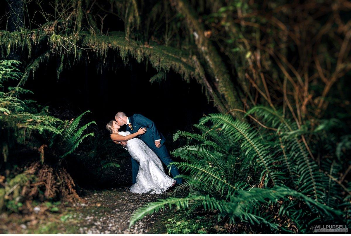 west coast wedding photos