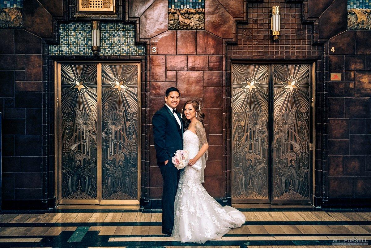 urban downtown vancouver wedding