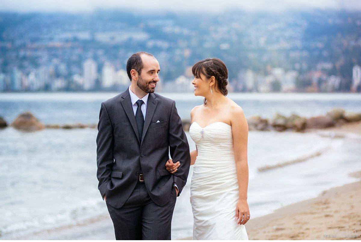 vancouver third beach wedding