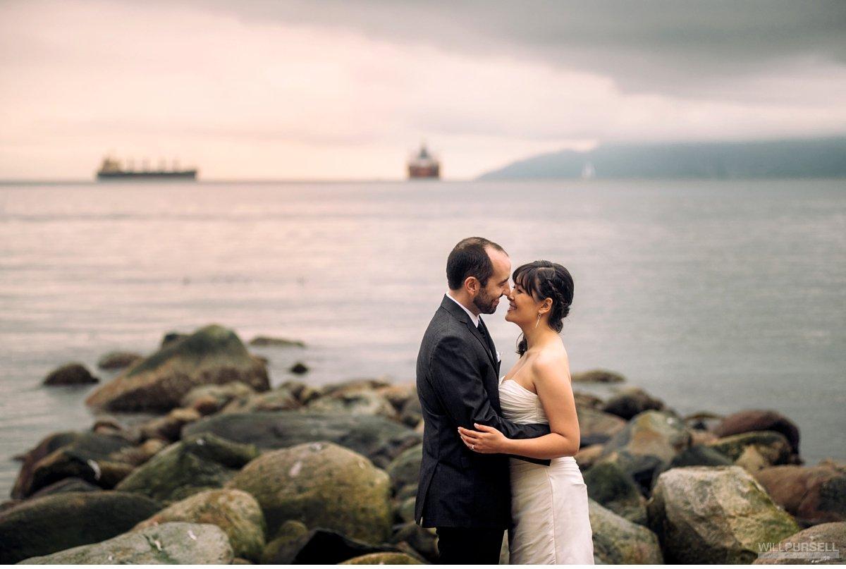 third beach wedding photography