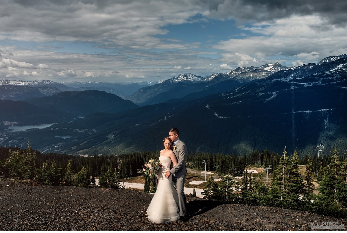 whistler mountain wedding