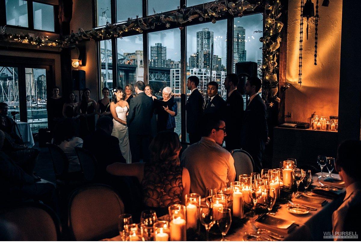 vancouver bridges restaurant wedding