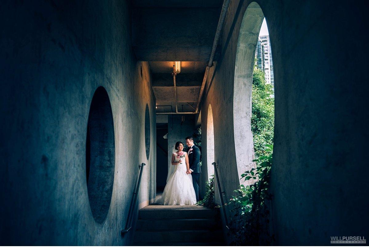 coal harbour wedding photo