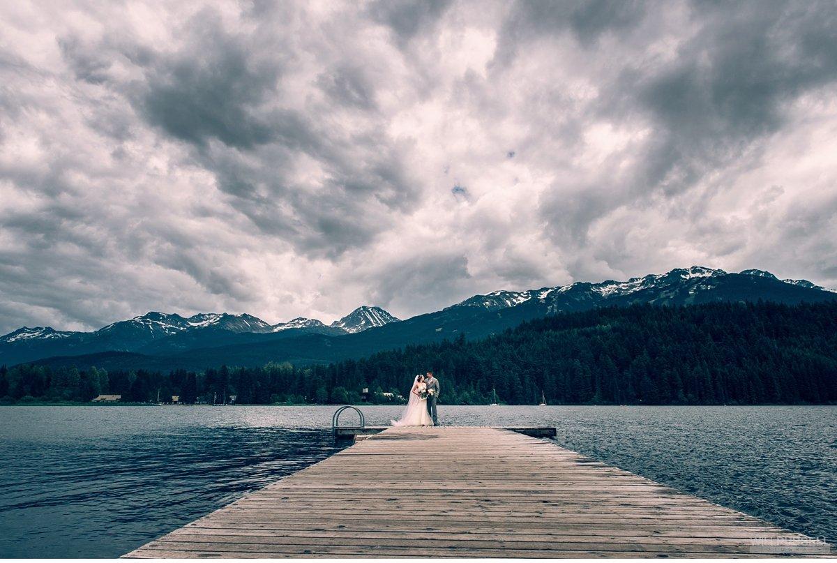 rainbow lake whistler wedding