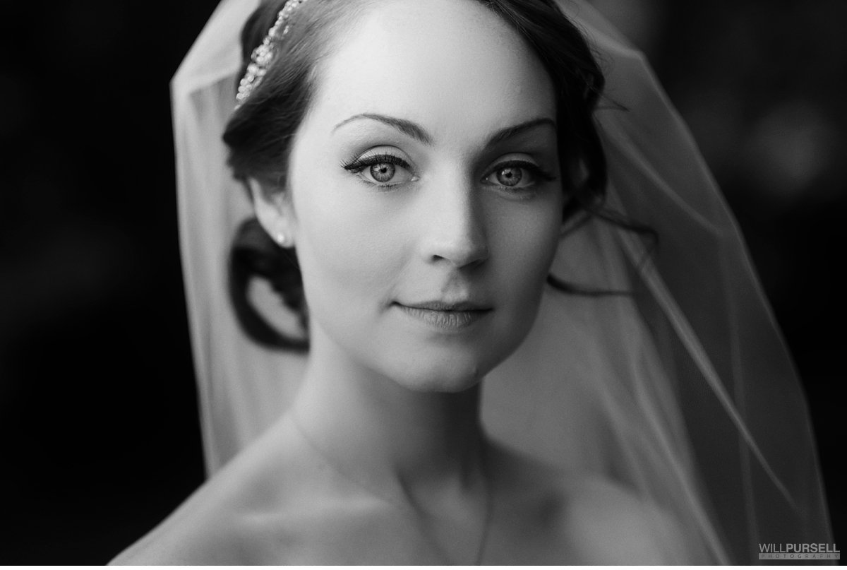 vancouver bride portrait