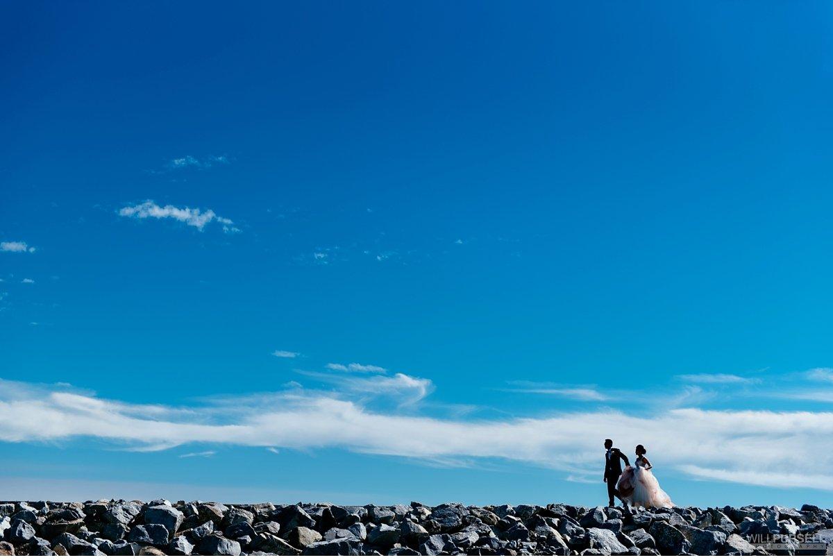 iona beach richmond wedding