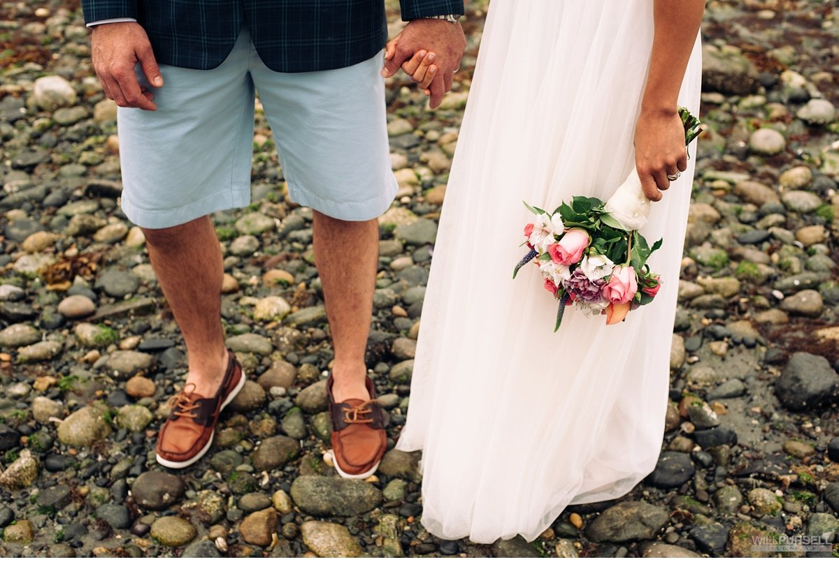casua vancouver wedding