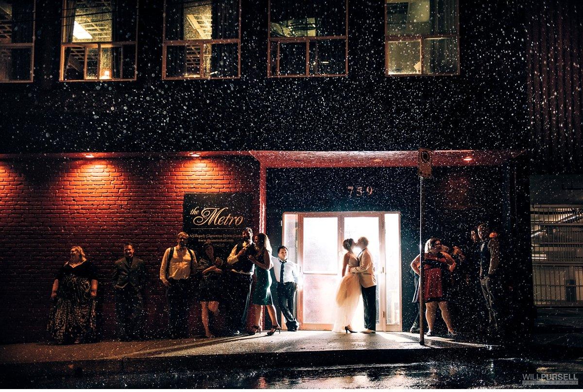 metro banquet hall wedding night photo