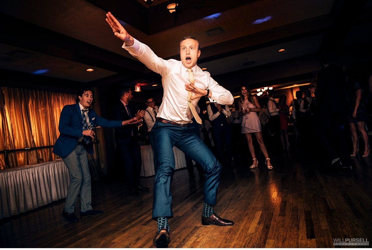 vancouver yacht club wedding reception