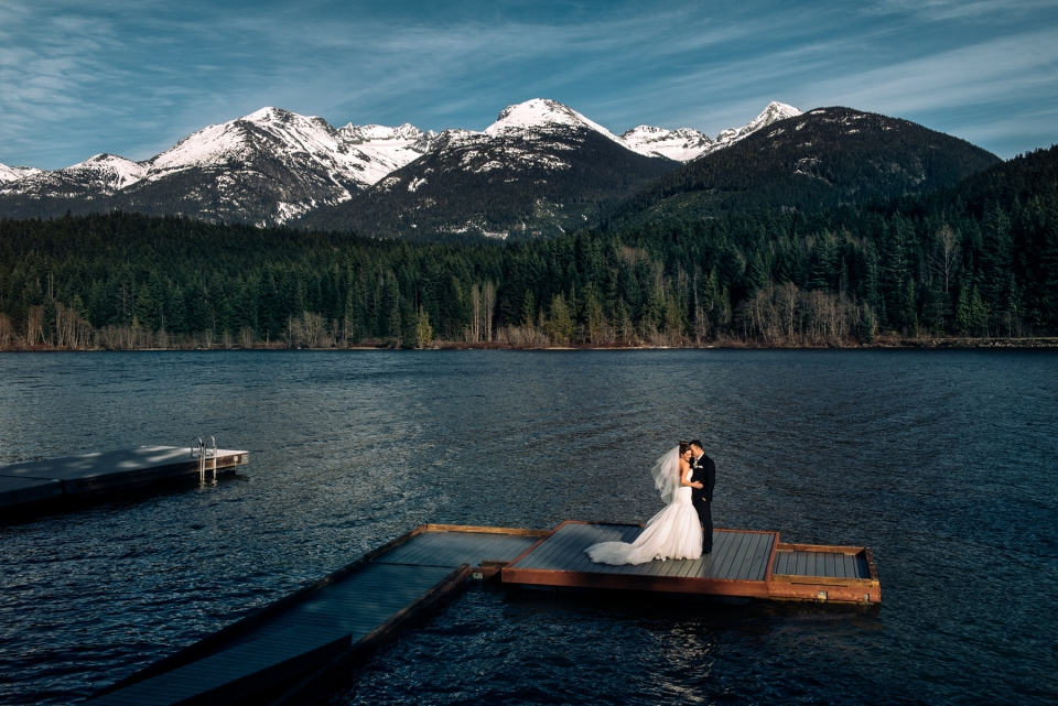fairmont chateau whistler wedding photography